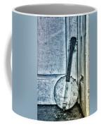 Mandolin Banjo In The Corner Coffee Mug
