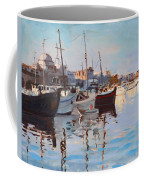 Mandraqi Rhodes Greece Coffee Mug by Ylli Haruni