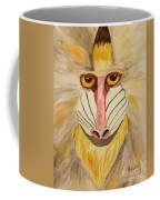 Mandrill Monkey Coffee Mug