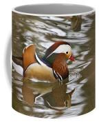 Mandrin Duck With A Purpose Coffee Mug