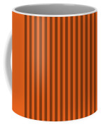 Mango Orange Striped Pattern Design Coffee Mug
