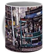 Manhattan 14th Street Coffee Mug