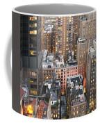 Manhattan At Dusk Coffee Mug