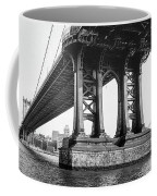 Manhattan Bridge, Afternoon Coffee Mug by Gary Heller
