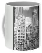 Manhattan From Madison Avenue Coffee Mug