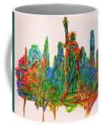 Manhattan Lady Coffee Mug