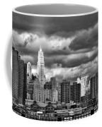 Manhattan Nyc Storm Clouds Cityview Coffee Mug