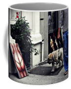 Manhattan Street Art Coffee Mug