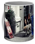Manhattan Street Art Coffee Mug
