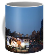 Manhattan View From The High Line Coffee Mug