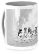 Manhole Sauna Coffee Mug