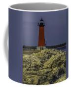 Manistique East Breakwater Light Coffee Mug