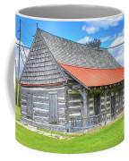 Manistique Schoolcraft County Museum Log Cabin -2158 Coffee Mug