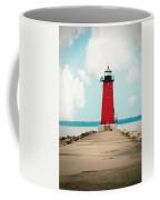 Manistque East Breakwater Lite Coffee Mug