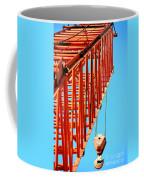 Manitowoc Red Boom Block And Hook Coffee Mug