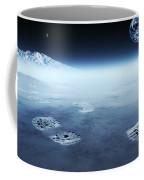 Mankind Exploring Space Coffee Mug