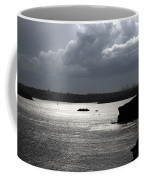 Manly Ferry And Storm Clouds Coffee Mug