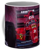 Mansell Ferrari 641 Coffee Mug