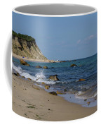 Mansion Beach, Block Island Coffee Mug