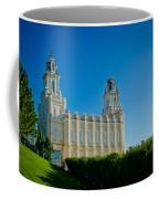 Manti Temple North Hill Coffee Mug