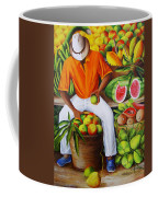 Manuel The Caribbean Fruit Vendor  Coffee Mug