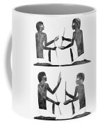 Manufacturing Flint Knives, Middle Coffee Mug