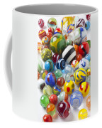 Many Beautiful Marbles Coffee Mug by Garry Gay