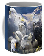 Many Faces  Coffee Mug
