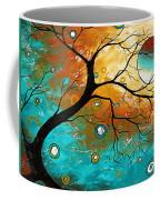 Many Moons Ago By Madart Coffee Mug by Megan Duncanson