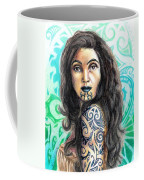 Maori Woman Coffee Mug