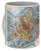 Map: Boston, C1880 Coffee Mug