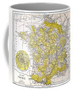 Map: France Coffee Mug