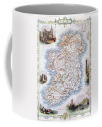 Map: Ireland, 1851 Coffee Mug
