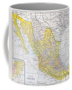 Map: Mexico Coffee Mug