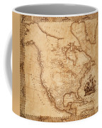 Map Of America 1800 Coffee Mug