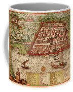Map Of Algiers 1541 Coffee Mug