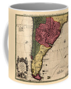 Map Of Argentina 1700 Coffee Mug