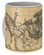 Map Of Arizona 1857 Coffee Mug