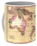 Map Of Australia 1828 Coffee Mug