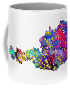 Map Of Austria-colorful Coffee Mug