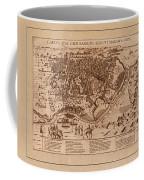 Map Of Cairo 1600 Coffee Mug