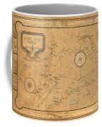 Map Of Cape Cod 1931 Coffee Mug
