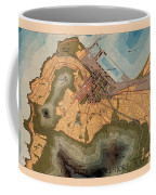 Map Of Cape Town 1947 Coffee Mug