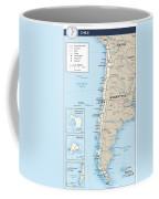 Map Of Chile Coffee Mug