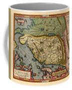 Map Of China 1590 Coffee Mug