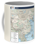 Map Of China 2 Coffee Mug