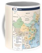 Map Of China Coffee Mug