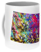 Map Of Colorado-colorful Coffee Mug