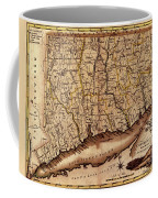 Map Of Connecticut 1795 Coffee Mug