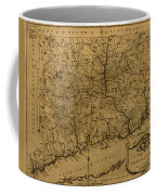 Map Of Connecticut 1797 Coffee Mug